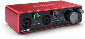 Interfaz Focusrite Scarlett 212 3ra Generación