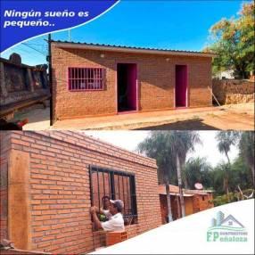 Construcción de casas económicas