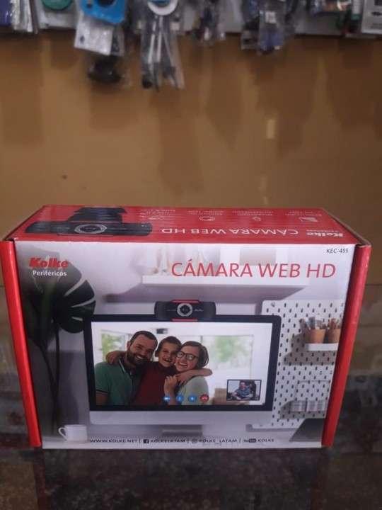 Webcam Kolke con cámara 720 de calidad HD y micrófono - 0