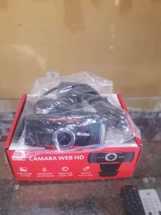 Webcam Kolke con cámara 720 de calidad HD y micrófono - 1