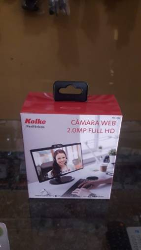 Webcam Kolke con cámara 1080 FHD y micrófono