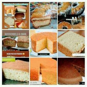 Bizcochos tortas y budines