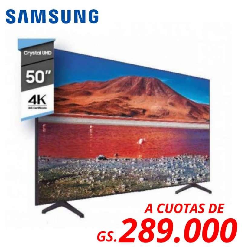Smart TV Samsung de 50 pulgadas 4K - 0