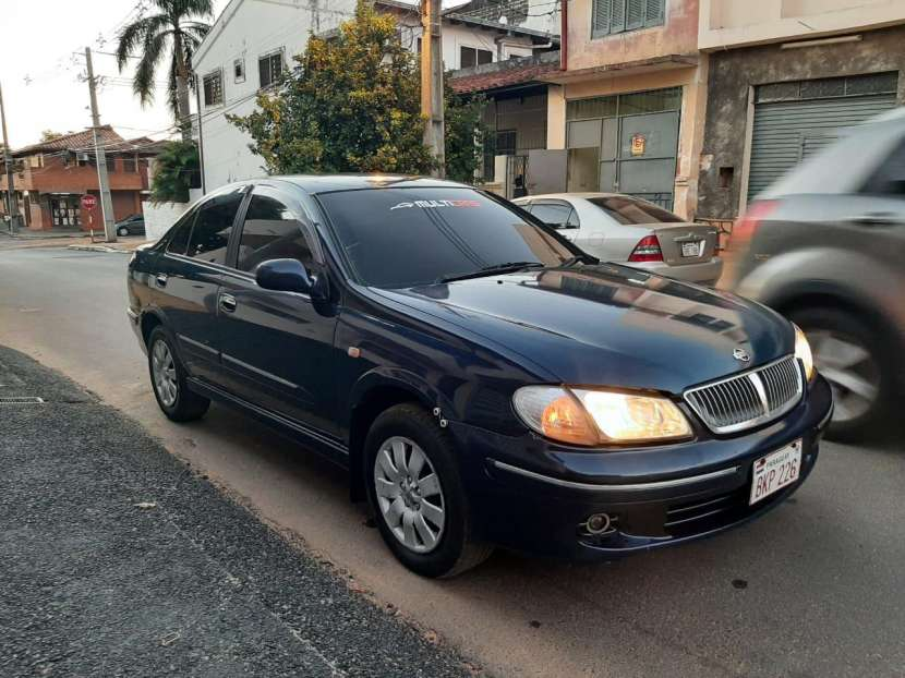 Nissan sylphy 2002 - 1
