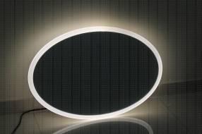 Espejo con borde led 60x60 cm