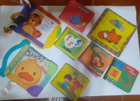 Libros juguetes en inglés