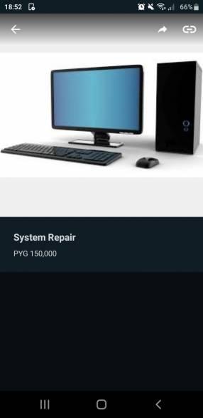 Reparación Computadoras