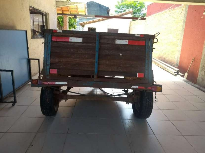 Carrito tira trailer - 1