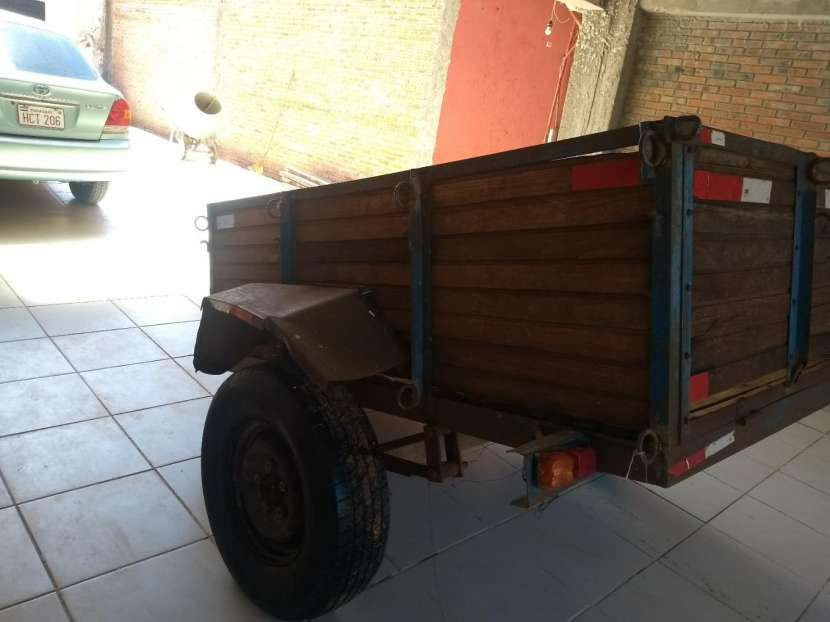 Carrito tira trailer - 2
