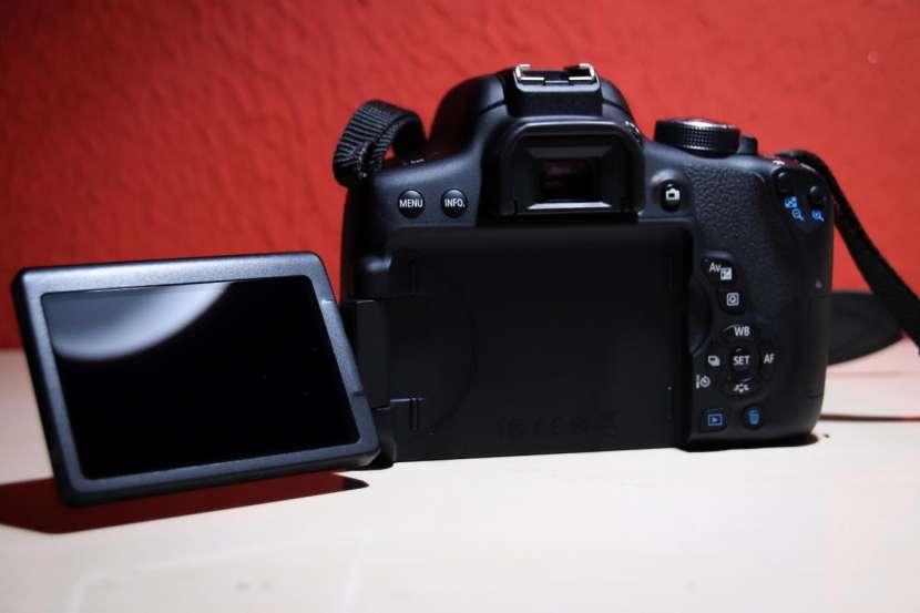 Cámara fotográfica Canon Rebel T6i - 4