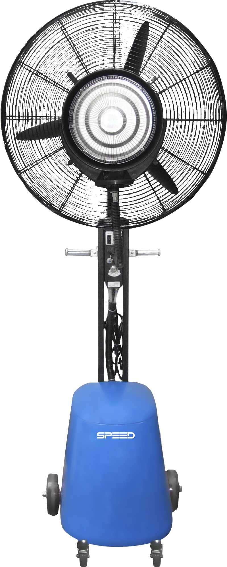 Ventilador de pie Speed 80cm 31.5 pulgadas 3 velocidades con micro aspersor - 0