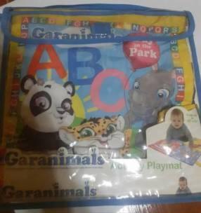 Libro juguete y alfombra para bebés