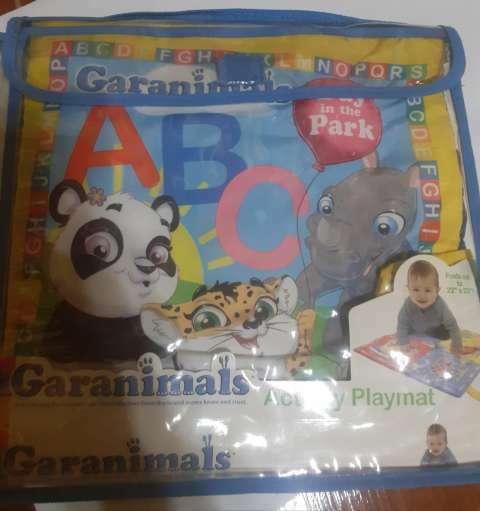 Libro juguete y alfombra para bebés - 0