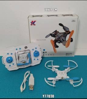 Mini drones recargables por medio de USB