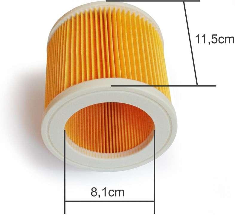 Filtro de aire de aspiradora Karcher - 0