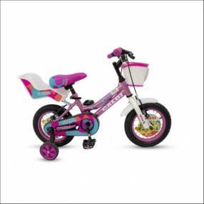 Bicicleta Caloi New Totica 12 nena fucsia