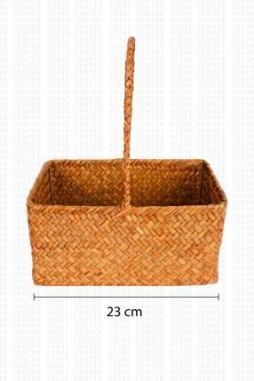 Cesta tipo picnic 23x12x30cm