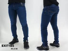 Pantalón de jeans elastizado para hombre EXIT185