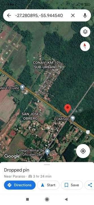 169 has. s/Ruta 1  Encarnación – Itapua - 0