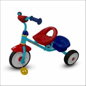 Triciclo milanito rojo/amarillo