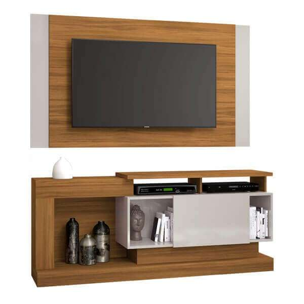 Rack y panel para tv de hasta 55″ nt1065 notavel abba - 0