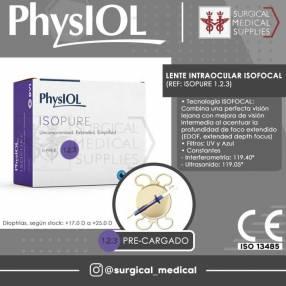 Lente Intraocular Isofocal PhysIOL