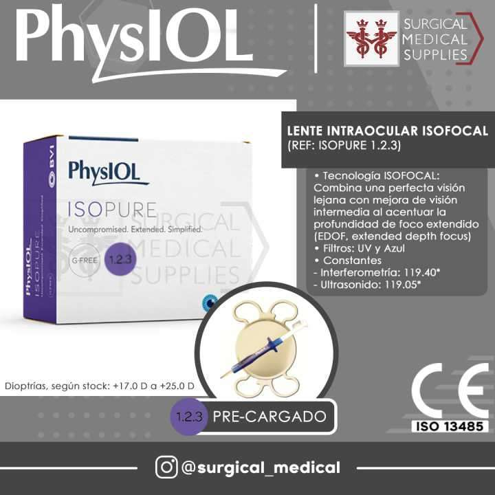 Lente Intraocular Isofocal PhysIOL - 0
