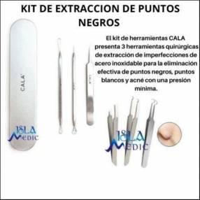 Kit de extracción de puntos negros