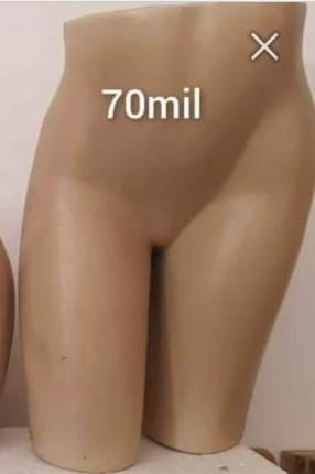 Maniquí medio cuerpo pierna