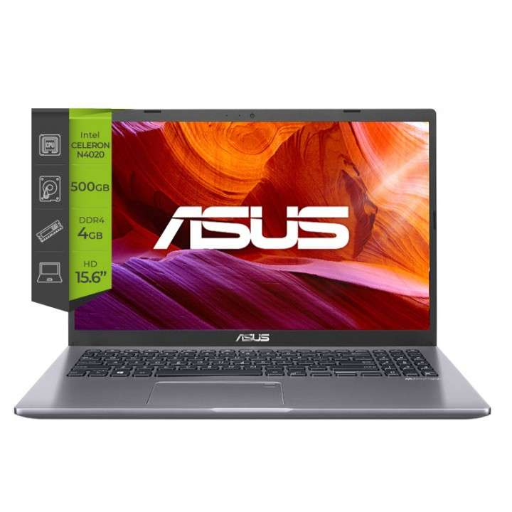 "Notebook Asus Celeron / 4Gb / 500Gb HDD / Pantalla 15.6"" HD - 0"