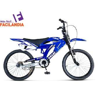 Bicicleta tipo moto Caloi aro 12 - 0
