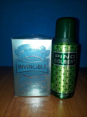 Perfume y desodorante