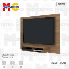 Panel Sofía para TV hasta 43 pulgadas