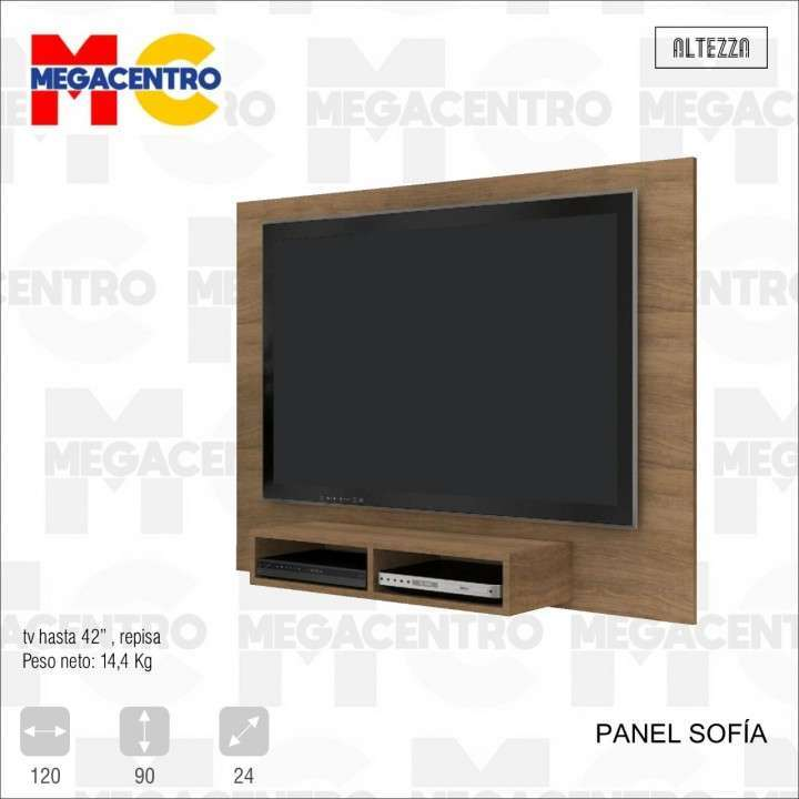 Panel Sofía para TV hasta 43 pulgadas - 0