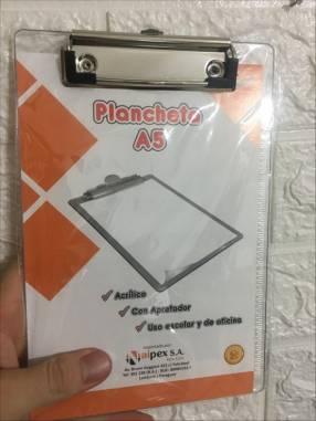 Plancheta A5