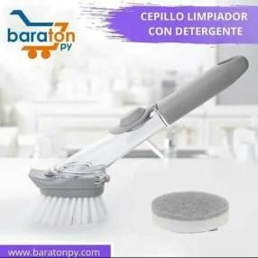 Cepillo limpiador + dispenser