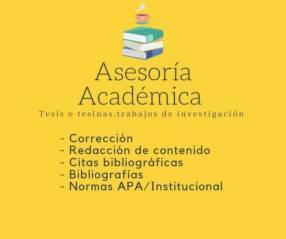 Elaboración de tesis - asesoría académcia