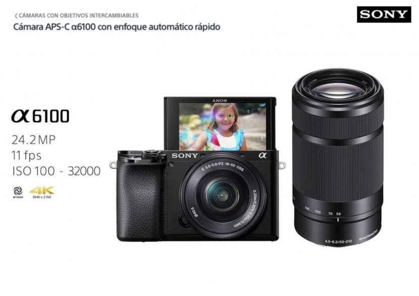 Cámara Sony A6100 Kit 16-50mm + 55-210mm - 0