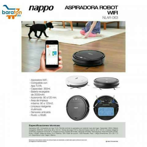 Aspiradora robot c/ wifi - 1