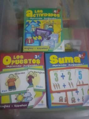 Combo de 2 juegos didácticos español inglés