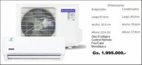 Acondicionadores de Aire Goodweather de 12.000 BTU/h
