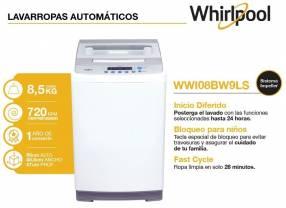Lavarropas Whirlpool 8.5 Kg