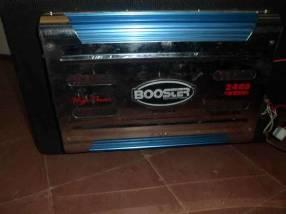 Amplificador de sonido para automóvil booster