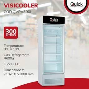 Visicooler Quick p/ vidrio 300 litros F/H