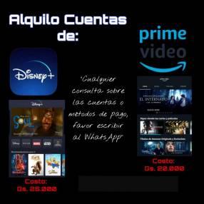 Disney+ y Amazon Prime