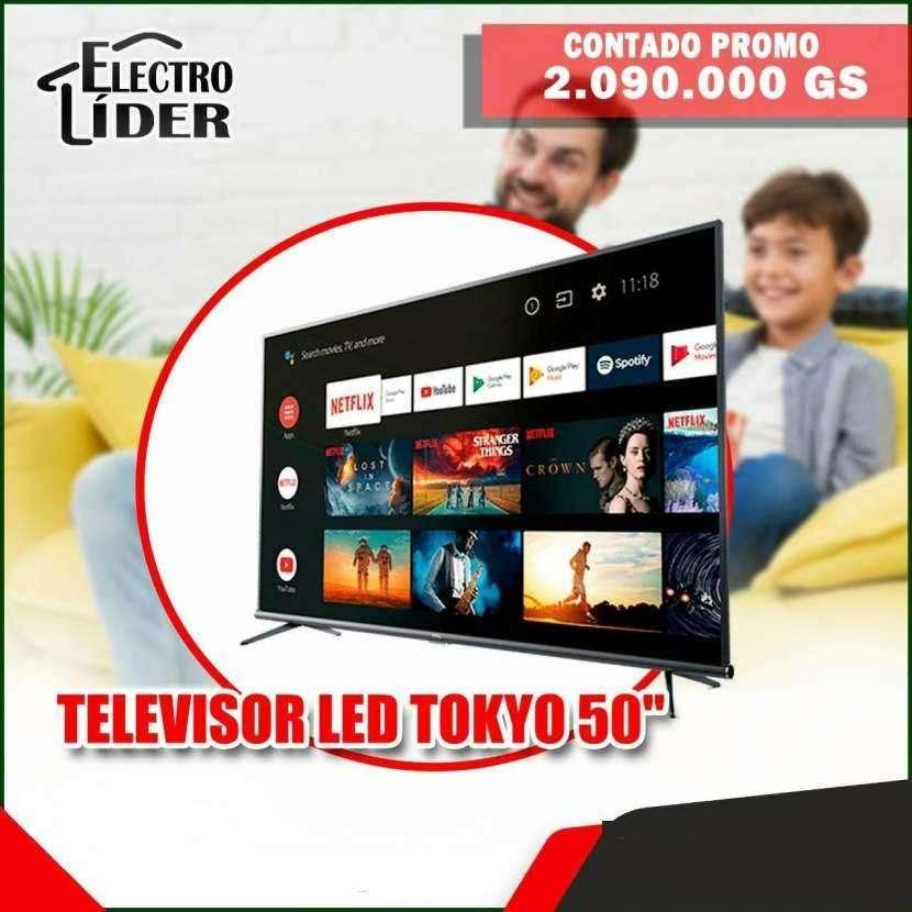TV LED Tokyo de 50 pulgadas - 0