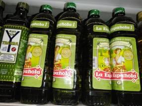 Aceite de oliva importado desde España