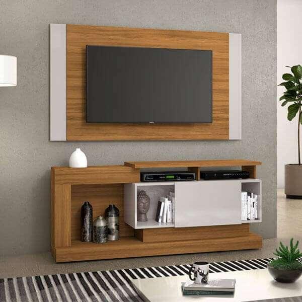 Rack y panel para TV de hasta 55 pulgadas NT1065 - 1