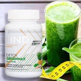 Jugo verde, Greenmax Detox. Ayuda a reducir el peso.