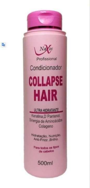 Kit Naxos Collapse Hair shampoo acondicionador y máscara - 1